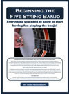 baginner banjo books to help learn the banjo